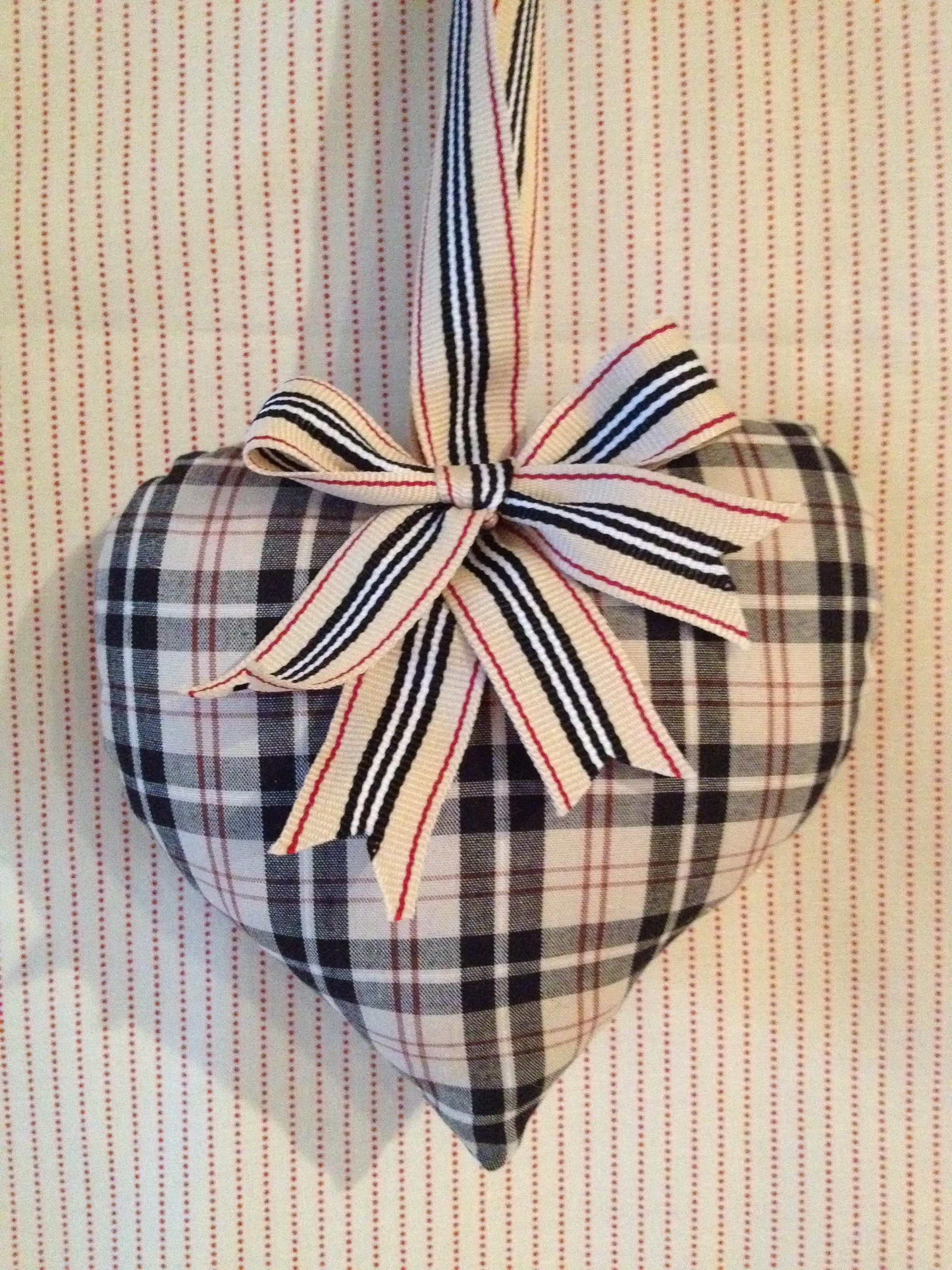 Burberry heart