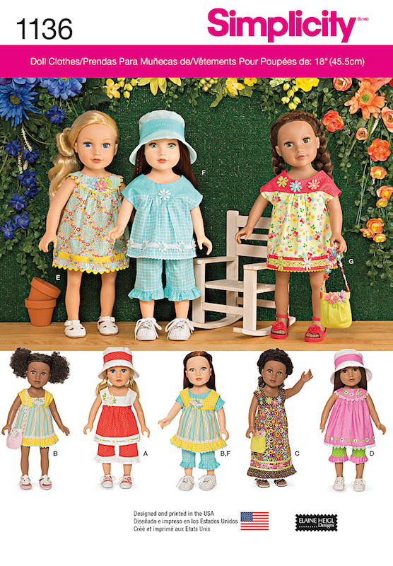 Make doll fashion for parties and for play